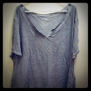 Terra & Sky grey tee shirt..